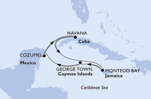 Crucero para universitarios al Caribe