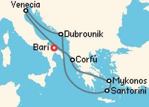 Crucero fin de curso Islas griegas