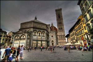 Viaje de estudiantes en Florencia